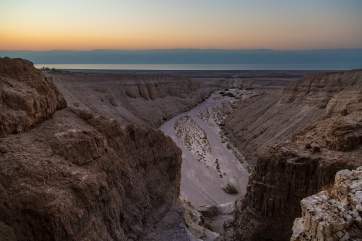 Qumran sunrise