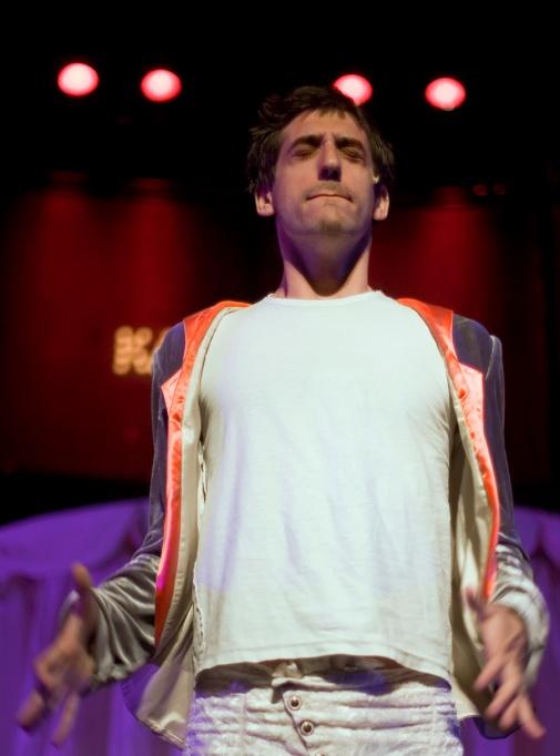"Alon Friedmann . ""Gesher's backstage / 2008"""