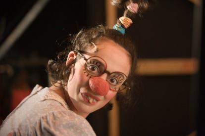 "Neta Shpigelman. ""Gesher's backstage / 2008"""