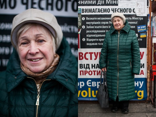 "Series ""Maidan's eyes"""