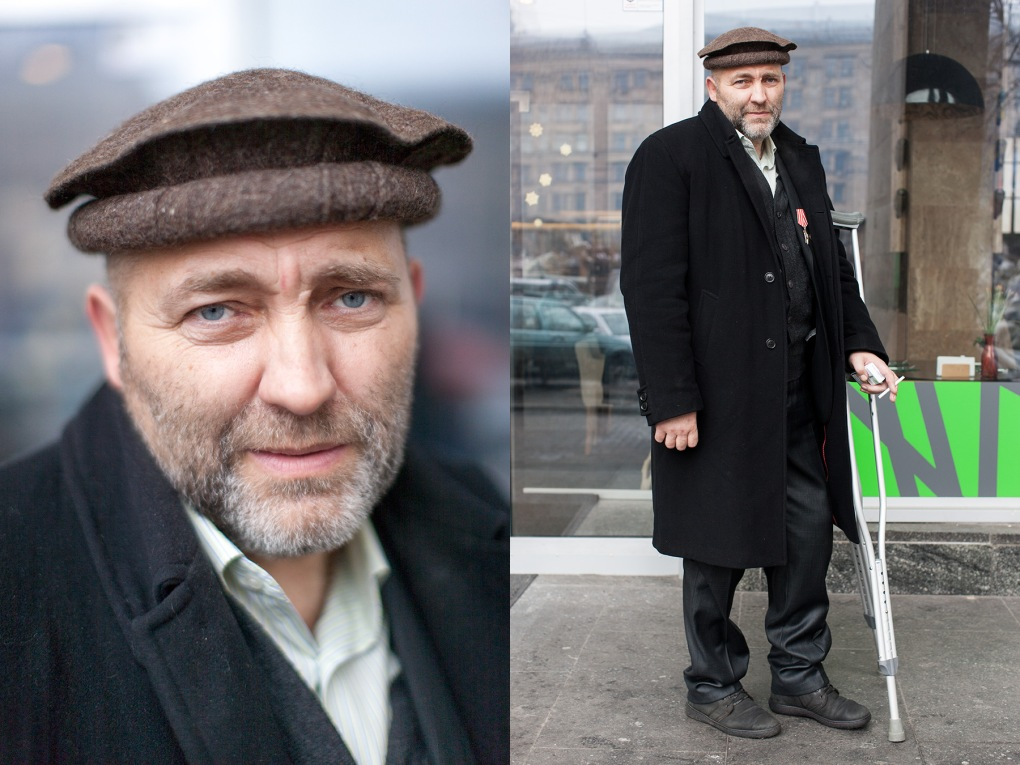 1) Semenyaka Nicholai, 55, businessman, military, Afghanistan, 9-th company, Order of Red Star, Korzhi village, Kyiv region, 2 children