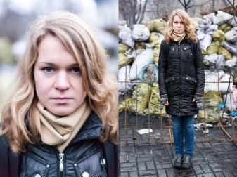 16) Olga, 31, an employee of the publishing house, Kiev, no children