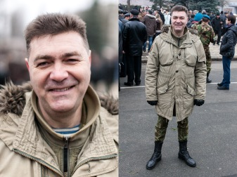 "48) Max, 49, a military officer, a former soldier in the Russian battalion ""Alia"" in Israel, Kiev, Odessa, 2 children"
