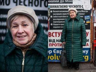 5) Lydia, 68, teacher, Kyiv, 2 children, 3 grandchildren