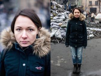 69) Ale, 37, journalist, Kyiv, 2 children
