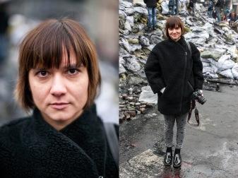 82) Anna, 33, designer, Kiev, one child